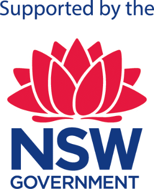 Supported by the NSW Government